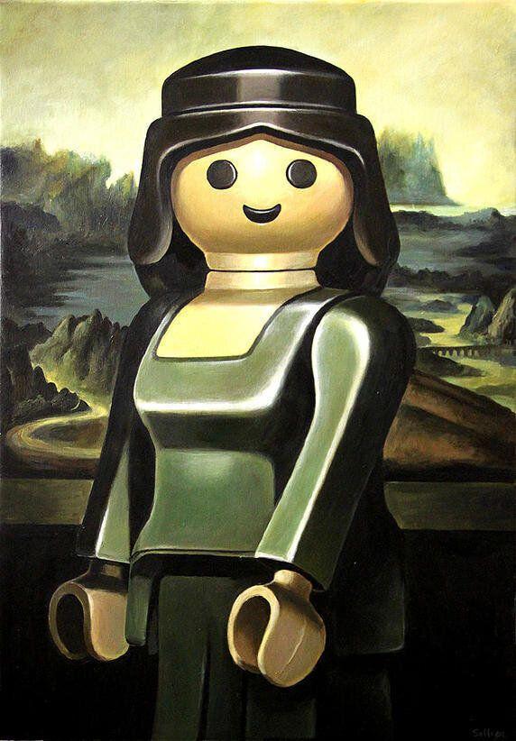 Des Playmobil pour revisiter les classiques de la peinture