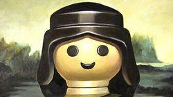 Des Playmobil s'incrustent dans les plus grandes toiles