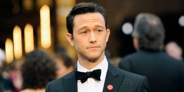 Joseph Gordon-Levitt arrives at the Oscars on Sunday, March 2, 2014, at the Dolby Theatre in Los Angeles....
