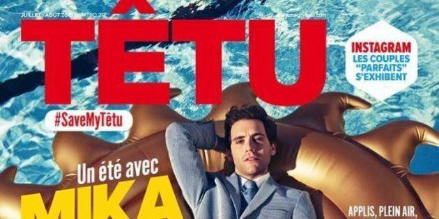 Têtu, l'unique magazine gay français,