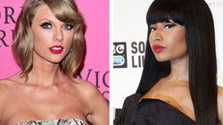 Taylor Swift s'excuse auprès de Nicki Minaj
