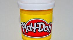 La forme d'un accessoire Play-Doh fait