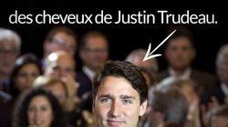 Harper n'arrête pas de parler des cheveux de Justin