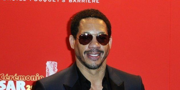 French rap singer and actor Joey Starr attends the Fouquet's dinner held after the 40th Cesar Film Awards...