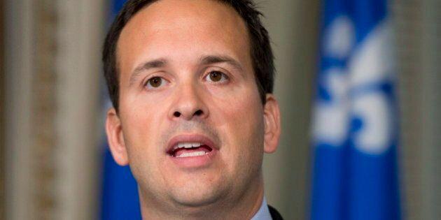 Chefferie du Parti québécois: Alexandre Cloutier mène pour les contributions