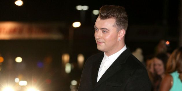 LONDON, ENGLAND - OCTOBER 22: Sam Smith attends the MOBO Awards at SSE Arena on October 22, 2014 in London,...