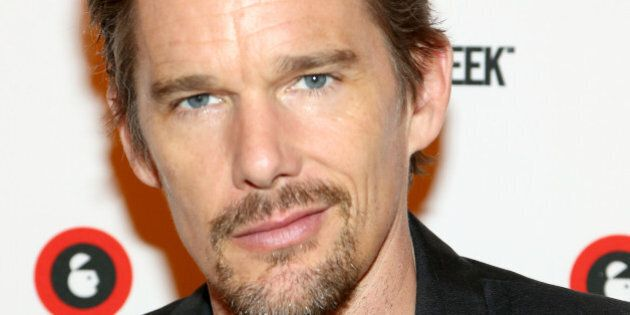 NEW YORK, NY - SEPTEMBER 30: Ethan Hawke attends the Live Taping of IMDB What To Watch w/Ethan Hawke...