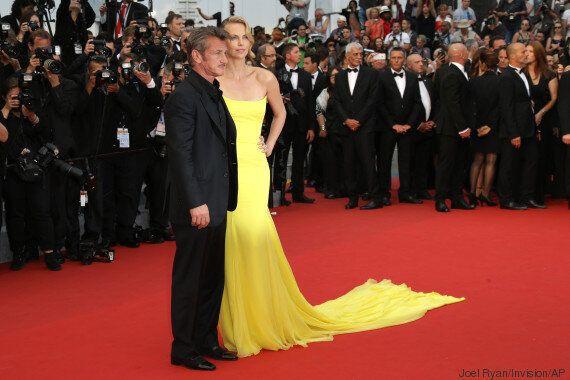 Sean Penn et sa fiancée Charlize Theron se