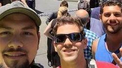 Selfies devant la prise d'otages de Sydney
