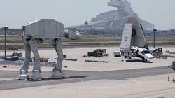 Une vidéo volée du tournage de Star Wars 7? Non, c'est mieux que ça