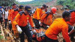Indonésie: un glissement de terrain fait au moins 51