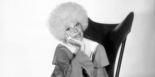 MONSANTO NIGHT PRESENTS CAROL CHANNING -- Pictured: Actress/comedian Carol Channing -- (Photo by: NBC/NBCU...