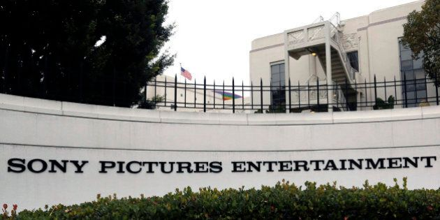 Sony Pictures Entertainment headquarters in Culver City, Calif. on Tuesday, Dec. 2, 2014. The FBI has...