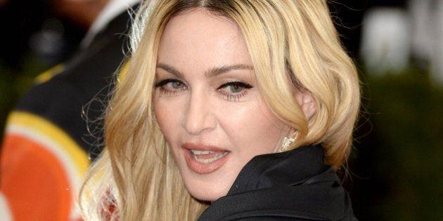Madonna attending The Metropolitan Museum of Art Met Gala, in New York City, USA.(Mandatory Credit: Doug...