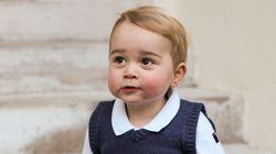 Le prince George vous souhaite de joyeuses fêtes
