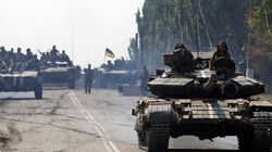 Ukraine: l'armée combat des blindés ayant traversé la frontière