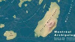 Montréal, si le niveau de la mer augmentait de 40 mètres