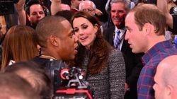 La rencontre du Prince William et Kate Middleton avec Beyoncé et Jay-Z