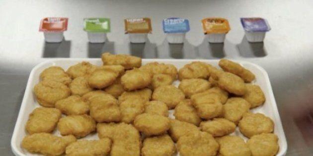 La fabrication des McCroquettes de McDonald's résumée en sept gifs