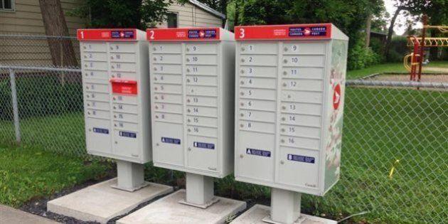 Postes Canada prête à faire des concessions sur les boîtes