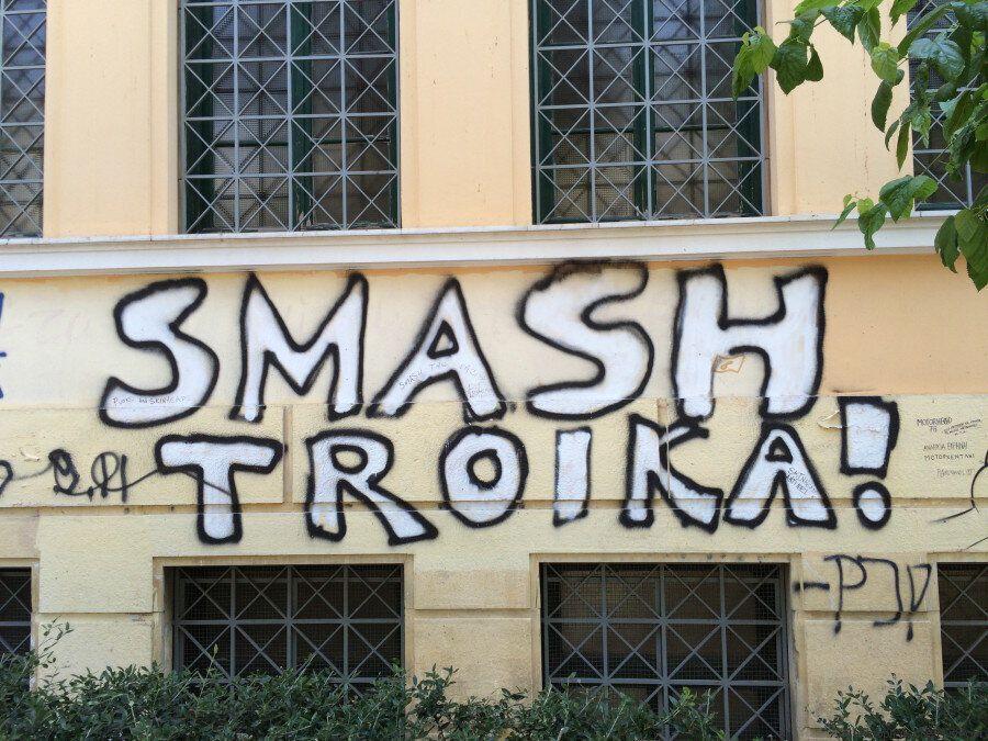 Graffitis à Athènes : 19 images que vous devez connaître pour mieux comprendre les jeunes Grecs