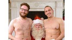 James Franco et Seth Rogen célèbrent Noël à leur façon