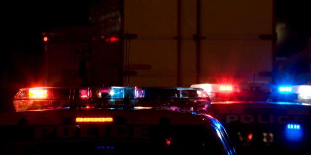 Châteauguay: voiture de police incendiée, véhicule suspect