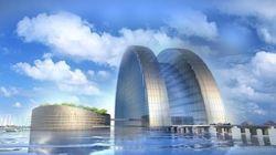 Un gigantesque hôtel flottant construit pour la Coupe du monde de 2022 au Qatar