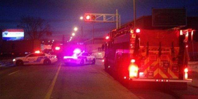 Une femme happée par un train près du pont Victoria à