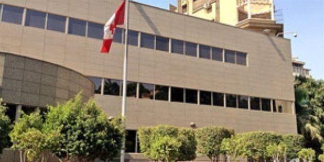L'ambassade canadienne au Caire fermée pour des raisons de