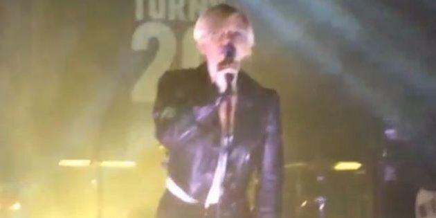Scarlett Johansson en concert surprise pour les 20 ans de Vice