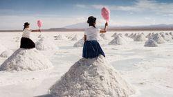 Visions surréelles du plus grand désert de sable au monde