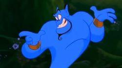 Un Disney sur le Génie d'Aladdin est en