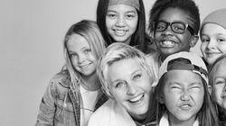 Ellen DeGeneres s'associe à Gap pour une campagne dont les fillettes sont les