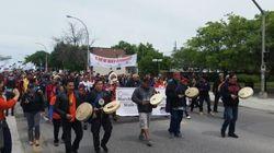 Marche pour les victimes des pensionnats
