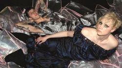 Gwendoline Christie dans une campagne pour Vivienne