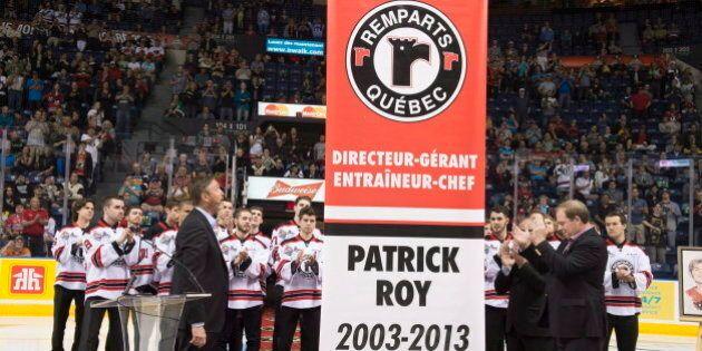 Patrick Roy immortalisé par les