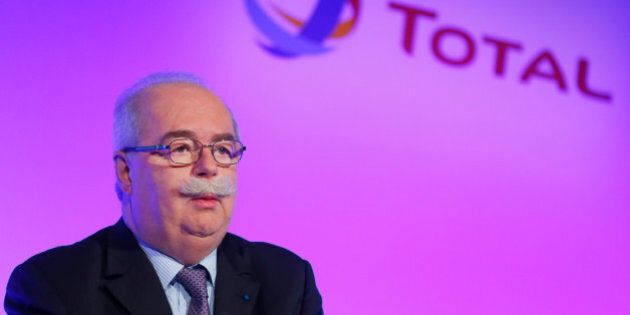 French energy giant Total CEO, Christophe de Margerie poses prior to a press conference, in Paris, Wednesday,...