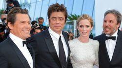 Festival de Cannes: Emily Blunt magnifique aux côtés du réalisateur québécois Denis