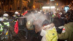 Manifestation nocturne à Montréal: 81 personnes interpellées