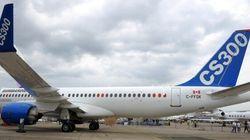 Le CS300 de Bombardier a effectué son premier vol public