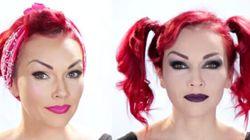 Voyez cette femme se transformer grâce au maquillage