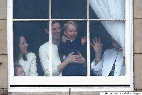 Le prince George a volé la vedette à la fête de la reine