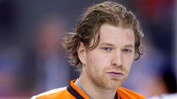 Arrestation à Ottawa : Claude Giroux et les Flyers