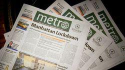 Journal Métro: le prix de la