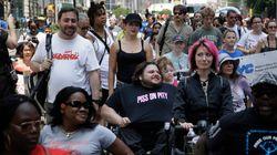 New York: 1ère marche de Fierté des handicapés