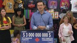Près de 4 millions de familles canadiennes recevront des