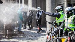 Grève étudiante: une vingtaine d'étudiants arrêtés dans la manifestation