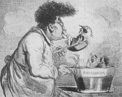 Caricature d'Alexandre Dumas par Cham.