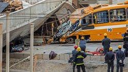 Brésil : effondrement d'un viaduc, deux morts